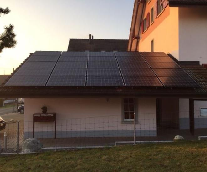 13.8 kWp - Oberwil / ZH