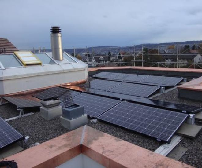 7.5 kWp - Dach 8, Thalwil / ZH